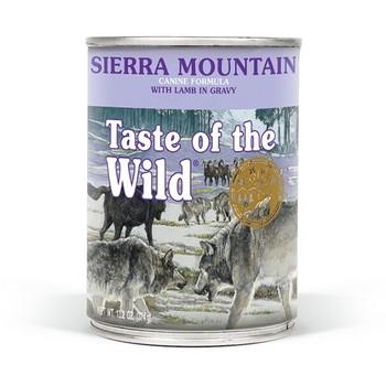 Taste of the Wild Konzerva Sierra Mountain canine 390g