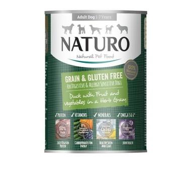 Naturo Konzerva Grain Free patka 390g