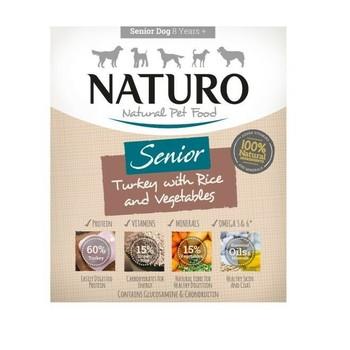 Naturo Obrok Adult Senior ćuretina i riža s povrćem 400g