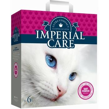 Imperial Care Grudvajući posip grudvajući za mačke sa aromom Bebi pudera 6kg