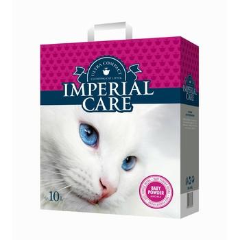 Imperial Care Grudvajući posip za mačke sa aromom Bebi pudera 10kg