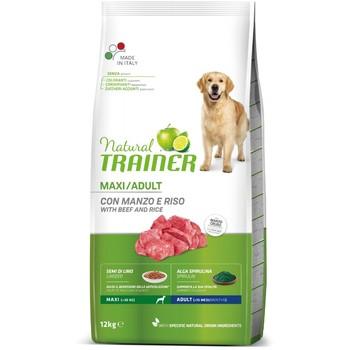 Trainer Natural Dog sa govedinom i pirinčem za odrasle pse velikih rasa 12kg
