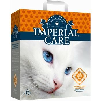 Imperial Care Silver Ions Grudvajući posip za mačke antibakterijski 6kg