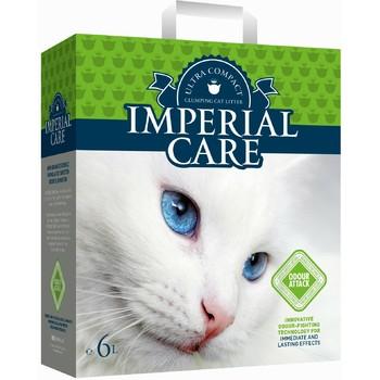 Imperial Care Odour Attack Grudvajući posip grudvajući za mačke sa aromom zelene bašte 6kg