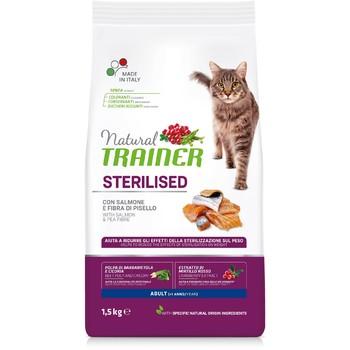 Trainer Natural Cat losos za odrasle sterilisane mačke 1.5kg