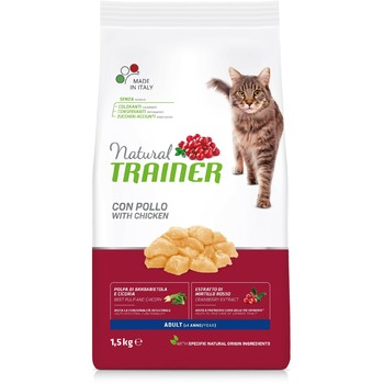 Trainer Natural Cat piletina za odrasle mačke 1.5kg