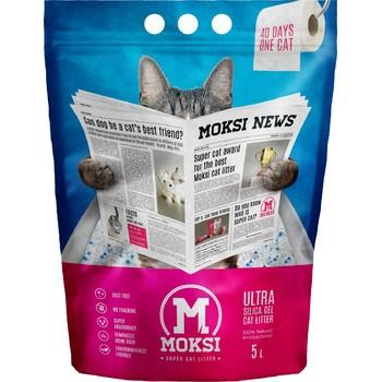 Moksi 5l Moksi silikonski pesak za mace