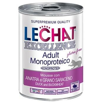 Lechat Excellence pašteta sa pačetinom i heljdom - Adult 400g