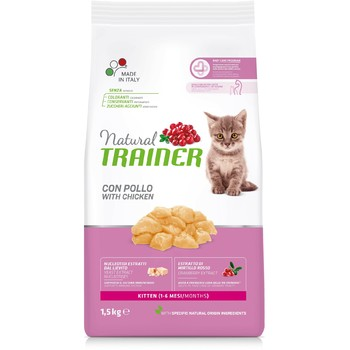 Trainer Natural Cat Kitten piletina za mačiće 1.5kg
