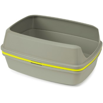 Moderna LiftToSiftSet - otvoreni toalet sa sitom-Siva+Žuto sito