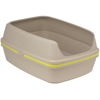 Moderna Lift to Sift Set 57cm-otvireni toalet sa sitom-siva+Žuto Sito