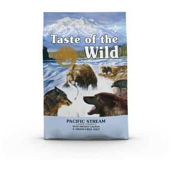 Taste of the Wild Dog - Pacific Stream Canine (dimljeni losos i riba) 12.2kg