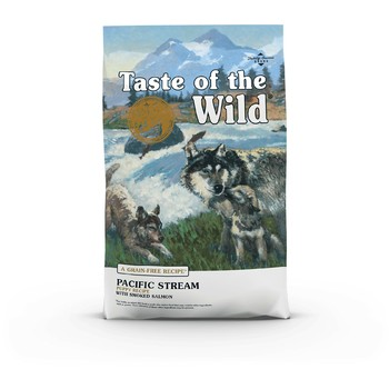 Taste of the Wild Dog - Pacific Stream Puppy (dimljeni losos i riba) 12.2kg
