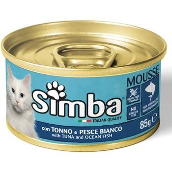 Simba obrok sa tunom i belom ribom 85g