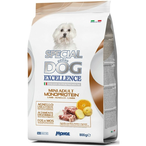 Special Dog Excellence Monoprotein jagnjetina za male rase - Adult 800g