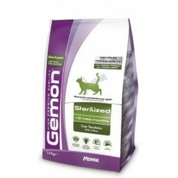 Gemon Cat Ćuretina za sterilisane mačke 400g