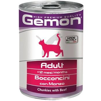 Gemon Cat Komadići govedine - Adult - konzerva 415g