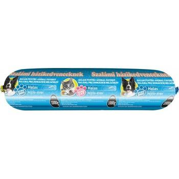 Europet 1kg Salama za pse i mačke sa ribom