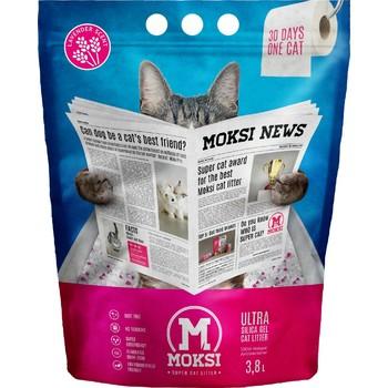 Moksi 3.8L MOKSI posip za mačke Lavanda