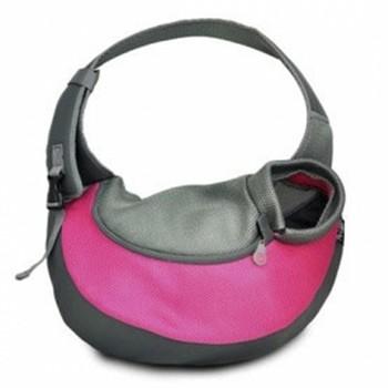Torba za ljubimce Ebi Backpack Maria Crazy Paws S 37X14X36.5 roze