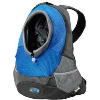 Torba za ljubimce Ebi Backpack Maria Crazy Paws M 41.5X17.5X43cm Plava