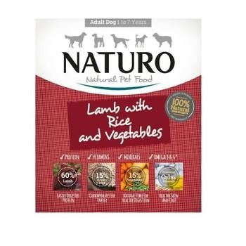 Naturo Obrok Adult Jagnjetina i riža s povrćem 400g