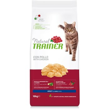 Trainer Natural Cat piletina za odrasle mačke 10kg