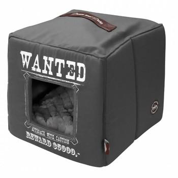 D&D Home Collection Wanted ležaljka/kuća 40X40X40cm Siva