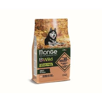 Hrana za pse BWild Grain Free Losos sa graškom za sve rase - Adult 2.5kg