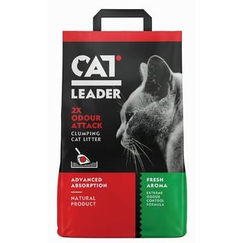 Cat Leader grudvajući 2x protiv neprijatnih mirisa sa aromom 5kg