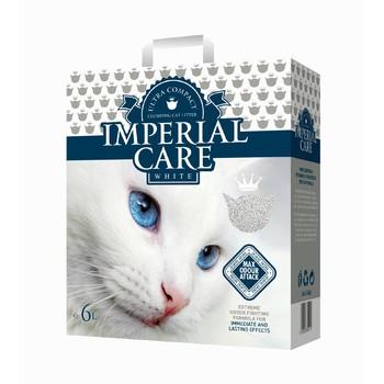 Imperial Care White Max Odour Attack Grudvajući posip za mačke sa aromom jasmina 6kg