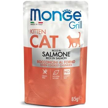 Monge Cat Grill sos Losos - Kitten 85g