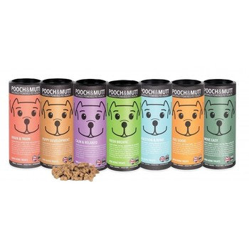 Poslastice za pse Pooch Mutt Tube Treats 125g Peanut Butter