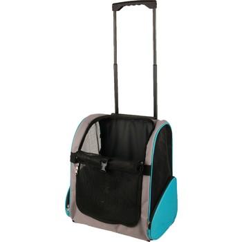 Flamingo Torba/kolica za pse Trolley Tirkizna 38X26X46cm
