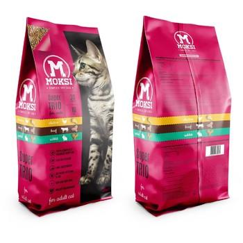 Moksi 20kg 30/10 hrana za mačke pile/gov/zec