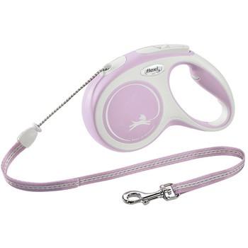Flexi Comfort M Cord 5m roze