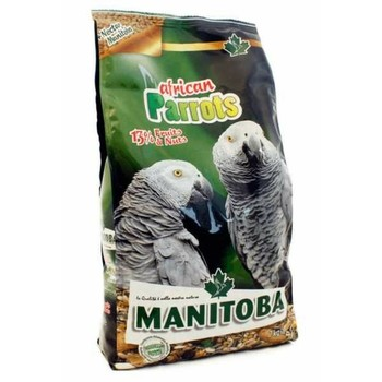 Manitoba African parrots