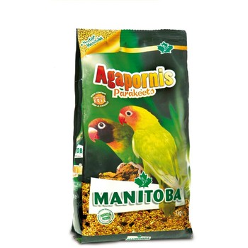 Manitoba Agapornis parakeets - Hrana za afričke papagaje 1kg