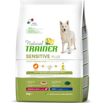 Trainer Natural Sensitive No Gluten sa zečetinom za odrasle pse srednjih i velikih rasa 3kg