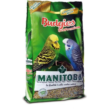 Manitoba Best Premium Budgies Cocorite - hrana za tigrice 1kg