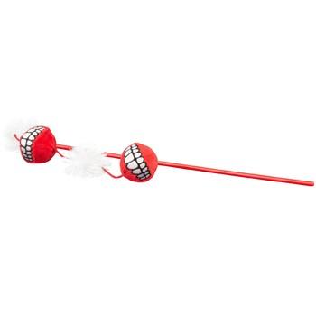 Rogz Pecaljka Catnip Ball Magic Stick Crvena