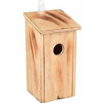 Flamingo Kućica za ptice Wood Flamed Nature 12X12X24cm