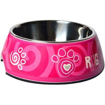 Rogz Činija Bubble Bowlz S Pink Paw