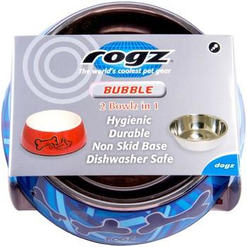 Rogz Činija Bubble Bowlz S Navy Zen