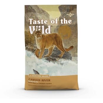 Hrana za mačke Taste of the Wild Cat - Canyon River Feline 7kg